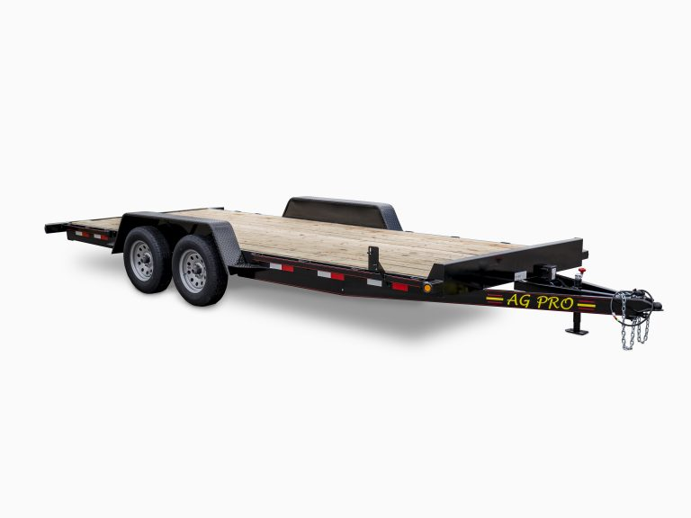 Deluxe Wood Floor Car Trailers