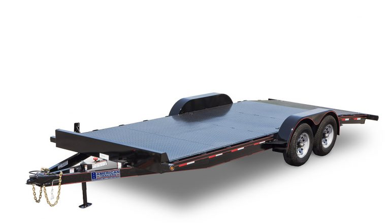 Deluxe Diamond Floor Car Trailer