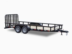 Deluxe Tandem Utility Trailers