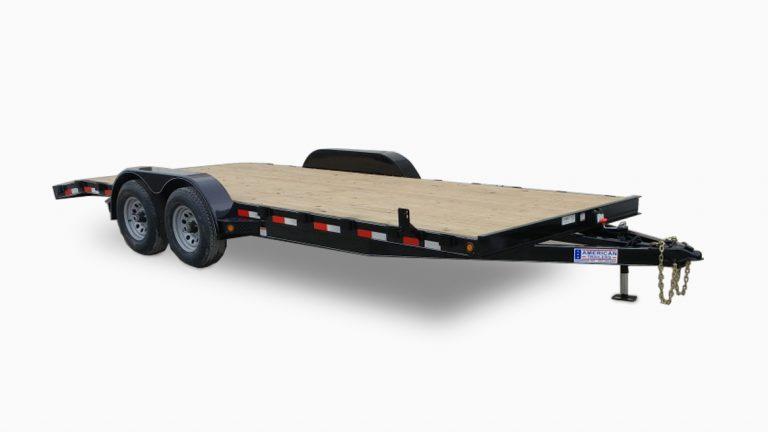 Standard Wood Floor Car Trailers
