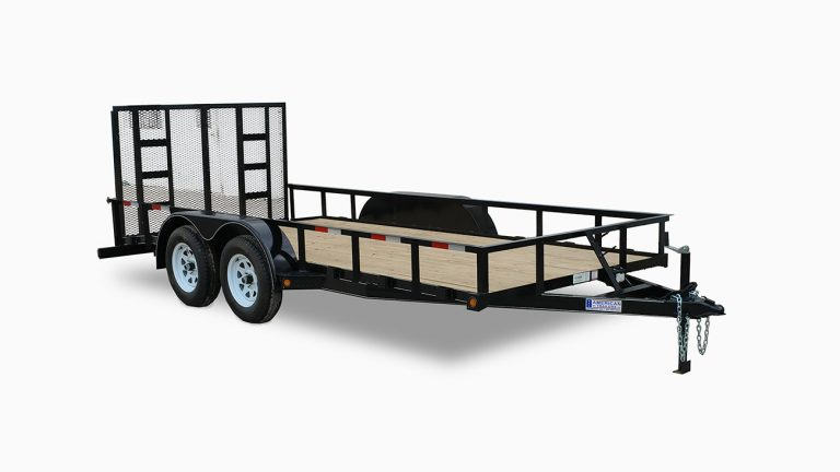 Standard Tandem Utility Trailers